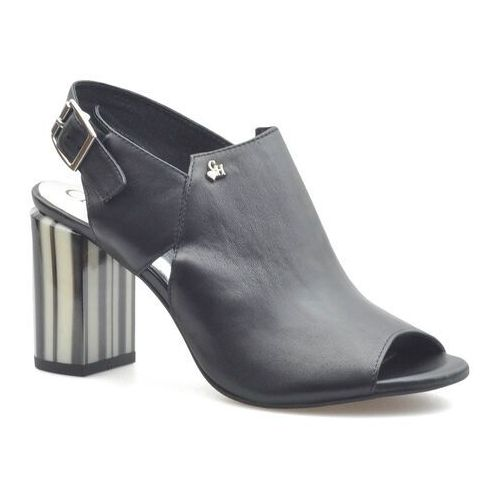 Sandały damskie, Sandały CheBello 2463-160 Czarne lico