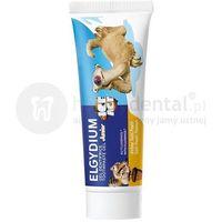 Pasty do zębów, ELGYDIUM Junior ICE AGE pasta do zębów dla dzieci o smaku Tutti Frutti - 50 ml