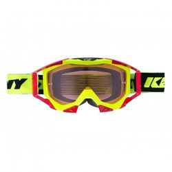 KENNY GOGLE TITANIUM NEON YELLOW RED