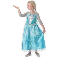 Przebrania dziecięce, Kostium Frozen Elsa Premium dla dziewczynki - Roz. S