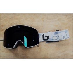 Gogle Bolle NEVADA MATTE WHITE CAMO PHOTOCHROMIC VERMILLON BLUE