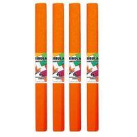 Pozostałe artykuły papiernicze, Bibuła marszczona 06 pomarańczowa ciemna (10szt)