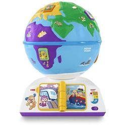 Fisher Price Ucz się i Śmiej Edukacyjny Globus odkrywcy DRJ85