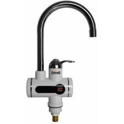 Elektryczny przepływowy ogrzewacz wody STORM 3 kW z LCD KOSPEL
