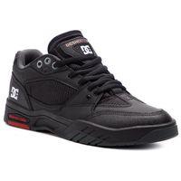 Męskie obuwie sportowe, Sneakersy DC - Maswell ADYS100473 Black/White/True Red (Bwu)