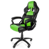 Fotele dla graczy, Fotel AROZZI Monza Czarno-zielony + DARMOWY TRANSPORT!