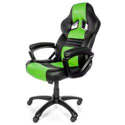 Fotel AROZZI Monza Czarno-zielony