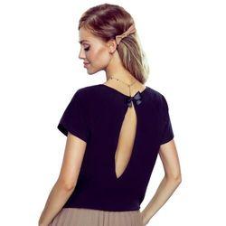 Ilza koszulka bawełniana damska Eldar Romantica Active Czarna Wiosenna (-8%)