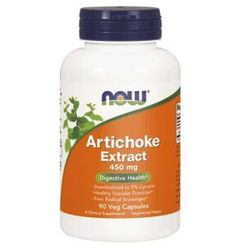 NOW Foods Artichoke Extract ( karczoch ) 450mg 90 kaps