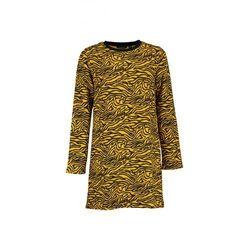 Sukienka dziewczęca czarno żółta 4K37A4 Oferta ważna tylko do 2023-06-02