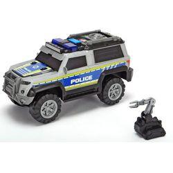 Auto Policja SUV srebrny 30 cm