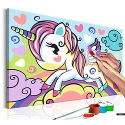 SELSEY Zestaw do malowania Kolorowy jednorożec
