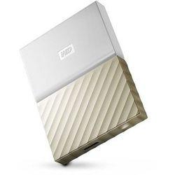 Western Digital My Passport Ultra 4000GB Złoto, Biały zewnętrzny dysk twarde