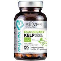 Pozostałe leki, Silver Pure 100% Kelp BIO 120 kaps.
