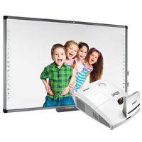 Tablice interaktywne, ZESTAW: AVTek TT-Board 90 PRO + ultrakrótkoogniksowy Vivitek D757WT