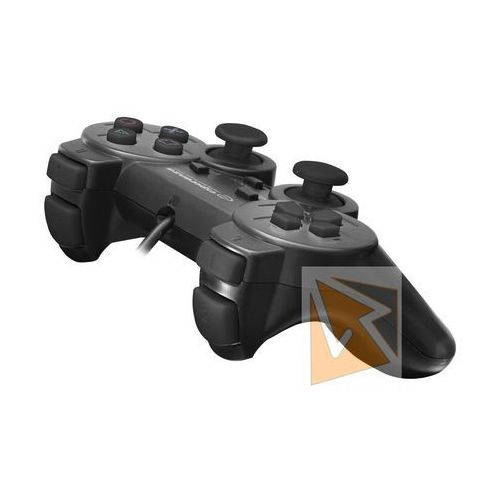 "Gamepady, Gamepad PS3/PC USB Esperanza ""Trooper"" czarny"