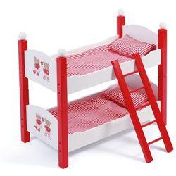 Bayer Chic Łóżko piętrowe dla lalek, czerwone - BEZPŁATNY ODBIÓR: WROCŁAW!