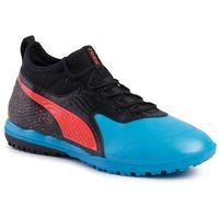 Piłka nożna, Buty PUMA - One 19.3 Tt 105489 01 Bleu Azur/Red Blast/Black
