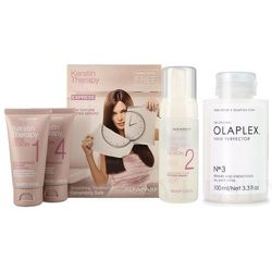 Alfaparf Keratin Therapy Smoothing Treatment Kit and Hair Perfector No.3 | Zestaw do włosów: keratynowe prostowanie włosów + regenerująca kuracja do włosów 100ml