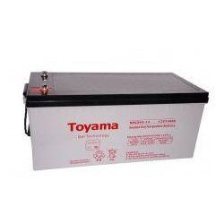 Akumulator żelowy Toyama 12V 240Ah NPG240-12 M8