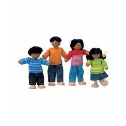 Rodzina ciemnoskórych lalek