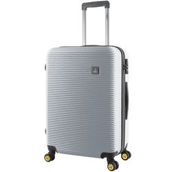 National Geographic Abroad M średnia walizka 67 cm / srebrna - srebrny
