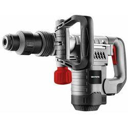 Młot kujący SDS Max 1050W 10J przewód 4m dłuto płaskie, dłuto samoostrzące, smar do wrzecion, ścierka, walizka 58G875