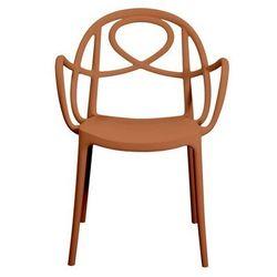 Krzesło ogrodowe Green Etoile P pomarańczowe