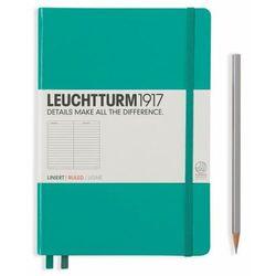 Notes Medium Leuchtturm1917 w linie szmaragdowy 344790