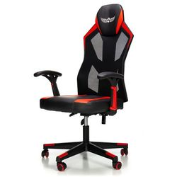 Fotel gamingowy NORDHOLD - IGNIS - czerwony