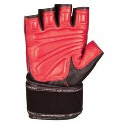 Rękawice fitness SPOKEY Miton (rozmiar XL) Czarno-czerwony