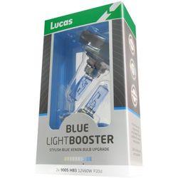 Lucas żarówki samochodowe LightBooster H7 12V 55W Blue 2 sztuki - BEZPŁATNY ODBIÓR: WROCŁAW!