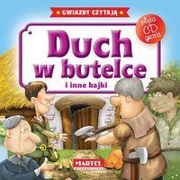 Książki dla dzieci, DUCH W BUTELCE I INNE BAJKI + CD (opr. twarda)