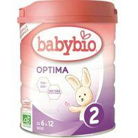 Mleka modyfikowane, Mleko następne od 6 do 12 miesięcy BIO 800 g BABYBIO
