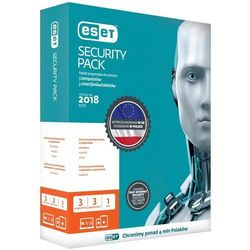 Eset SECURITY PACK 3STAN/36M+3 SMARTFONY/36M UPG