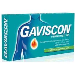 GAVISCON x 8 tabletek o smaku miętowym