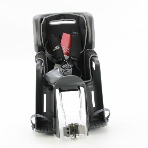 Foteliki rowerowe, Fotelik rowerowy ROMER JOCKEY3 COMFORT BRITAX- kolor szaro czarny 2021