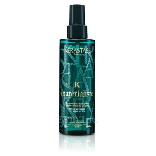 Stylizowanie włosów, Kérastase K Flexible Hold (Materialiste, All-Over Thickening Spray Gel) 195 ml