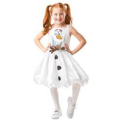 Kostium Frozen 2 Olaf sukienka dla dziewczynki - 9-10 lat
