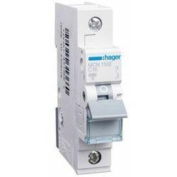 Hager MCB Wyłącznik nadprądowy 1P C 16A MCN116E