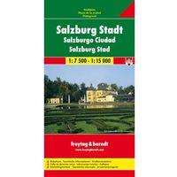 Mapy i atlasy turystyczne, Salzburg 1:7 500-1:15 000. Plan miasta. Freytag&Berndt (opr. twarda)