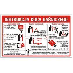 Instrukcja obsługi koca gaśniczego PB