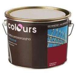 Farba antykorozyjna Colours czerwona tlenkowa 2,5 l