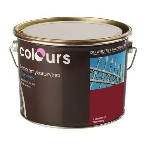 Farby, Farba antykorozyjna Colours czerwona tlenkowa 2,5 l