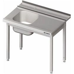 Stół załadowczy prawy bez półki do zmywarki kapturowej Silanos 1200x740x880 mm | STALGAST, 982387120
