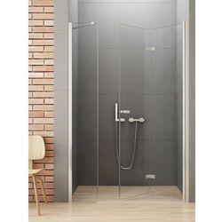 New Trendy Gold Drzwi prysznicowe NEW SOLEO 140, prawe, wys. 195 cm, szkło czyste 6mm D-0154A/D-0096B