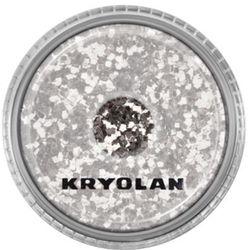 Kryolan POLYESTER GLIMMER COARSE (SILVER) Gruby sypki brokat - SILVER (2901)