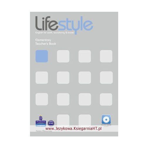 Książki do nauki języka, Lifestyle Elementary. Książka Nauczyciela + Test Master CD-ROM (opr. miękka)