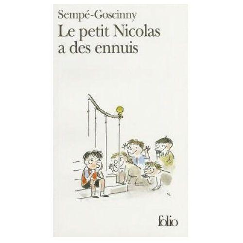 Książki dla dzieci, Le petit Nicolas a des ennuis (opr. miękka)