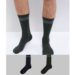 Selected Homme Socks In 2 Pack - Multi